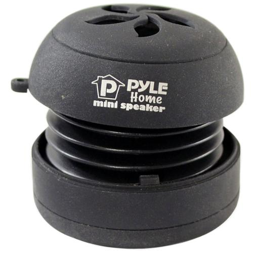 PyleHome PMS2B Speaker System - 2.2 W RMS - Black - 100 Hz - 20 kHz - USB - iPod Supported - Pyle