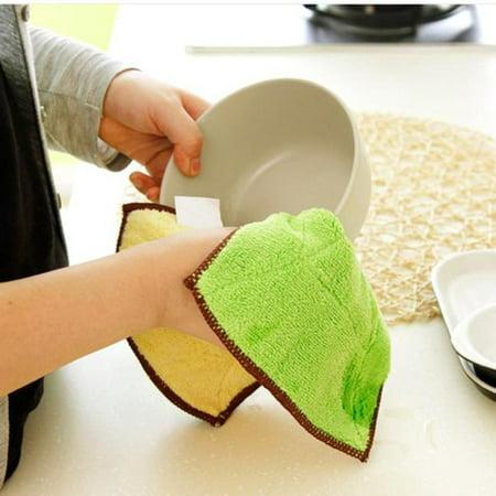 Mixed Color Microfiber Car Cleaning Towel Kitchen Washing Polishing