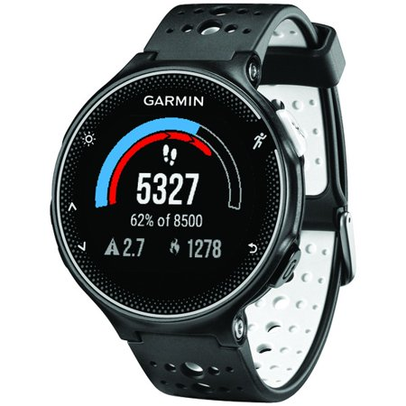 Garmin 010-N3717-40 Refurbished Forerunner 230 GPS Running Watch (Black/White)