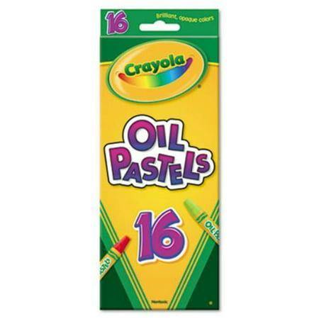 Crayola 16 Ct Colored Oil Pastel Sticks