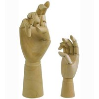 Artist Manikin 12in Male Right Hand