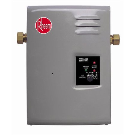 rheem rte-13 electric tankless water heater - 13 kw - walmart