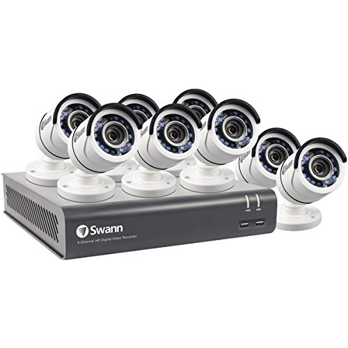 Swann SWDVK-845958-US  8-Channel 4595 Series 1080p DVR with 1TB HD & 8 Bullet Cameras
