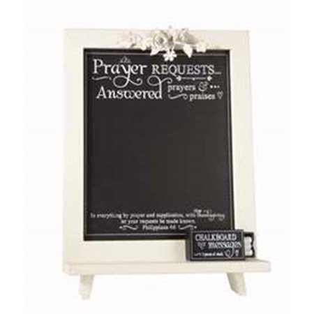 Large Chalk Board (Heartfelt 75409 Framed Art - Tabletop - Large Chalkboard Message - Prayer)