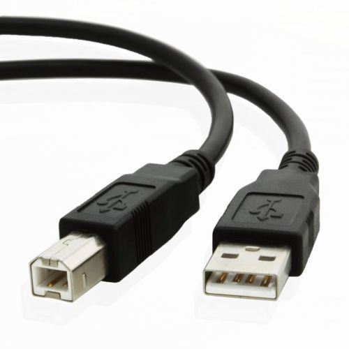 USB Data Cable Cord For HP PhotoSmart 2610 2710 C3180 All-In-One Inkjet Printer