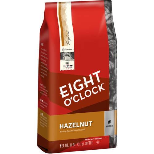 Eight O'Clock® Hazelnut Whole Bean Coffee 11 oz. Bag