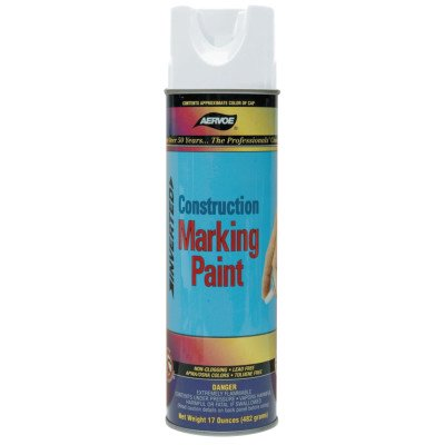 Image of WHITE 16 OZ WATER BASEDMARKING PAINT