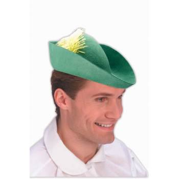 GREEN FELT ELF HAT - Paper Elf Hat