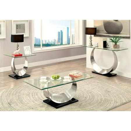 Hokku Designs Caspa Coffee Table Set