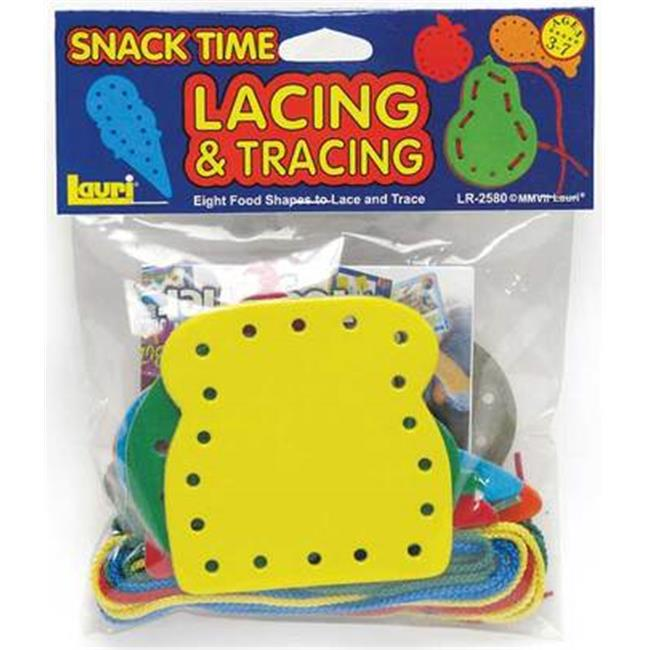 Patch Products 2580 Lacing & Tracing - Snack Time