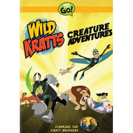 Wild Kratts Creature Adventures DVD