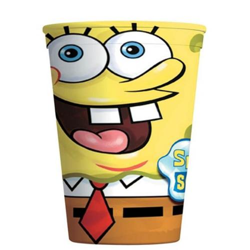 Amscan 4291557 Spongebob Plastic Party Cup 16 oz.  - Pack of 12