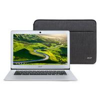"Acer Chromebook 14, Intel Atom x5-E8000 Quad-Core Processor, 14"" HD, 4GB LPDDR3, 32GB eMMC, Protective Sleeve, CB3-431-12K1 (Google Classroom Ready)"