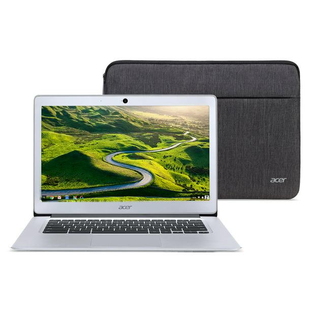 "Acer Chromebook 14, Intel Atom x5-E8000 Quad-Core Processor, 14"" HD, 4GB LPDDR3, 32GB eMMC, Protective Sleeve, CB3-431-12K1"