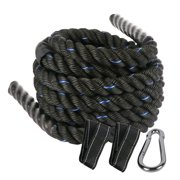 BIGTREE Battle Rope Poly Dacron 1.5 in Diameter 40 ft Length, Training Rope with Protective Sleeve