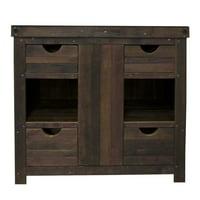 """Native Trails VNW36 Vintner's 36"""" Reclaimed Oak Vanity Cabinet Only"""