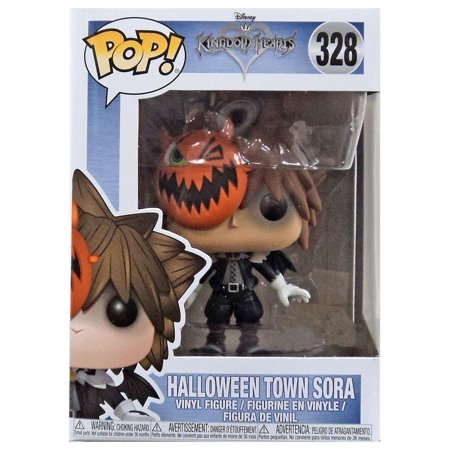Funko Pop! Disney Kingdom Hearts Halloween Town Sora #328, Funko Pop! Stylized collectable stands 3 ¾ inches tall! By OPP