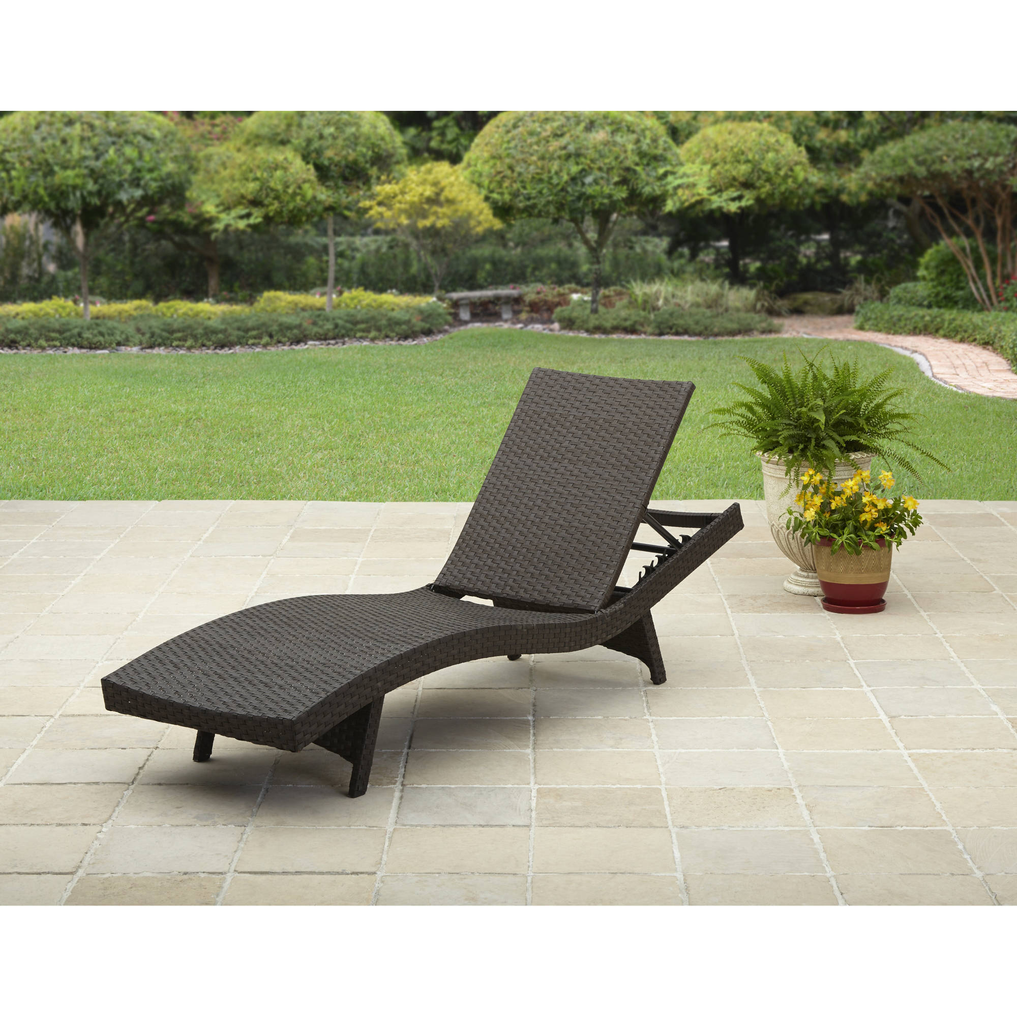 Patio Lounge Chairs House Architecture Design Outdoor Chaise Yard