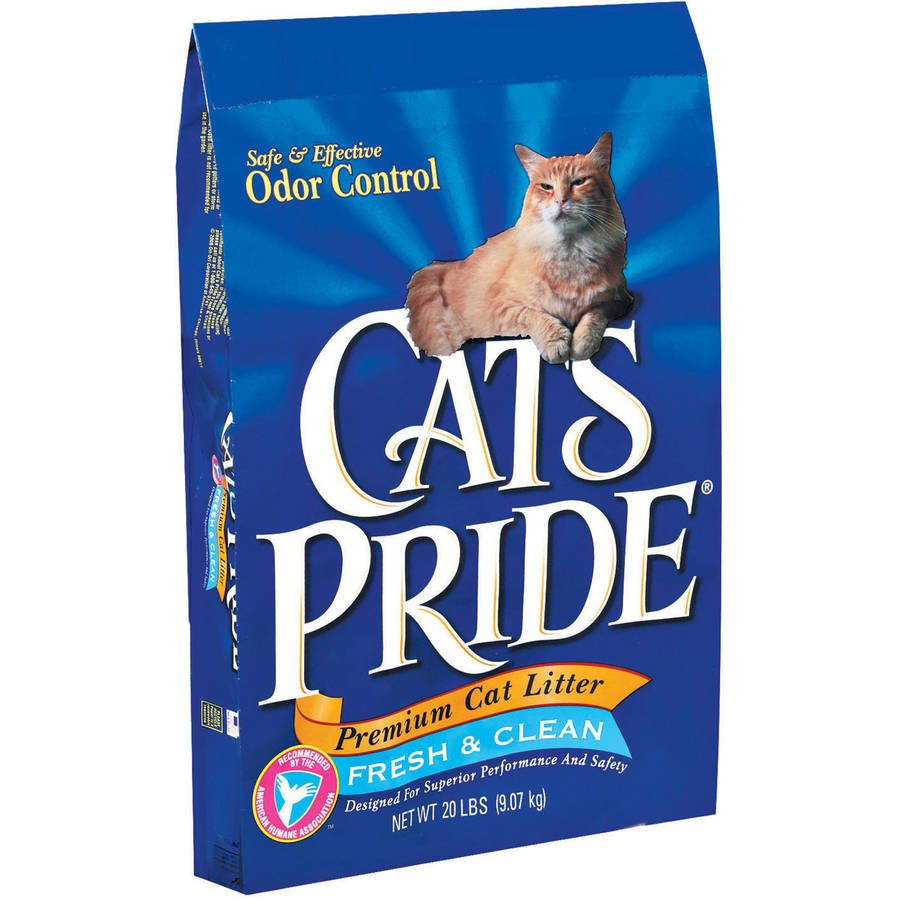 Cat's Pride Premium Non-Clumping Cat Litter Fresh & Clean, 20 lbs