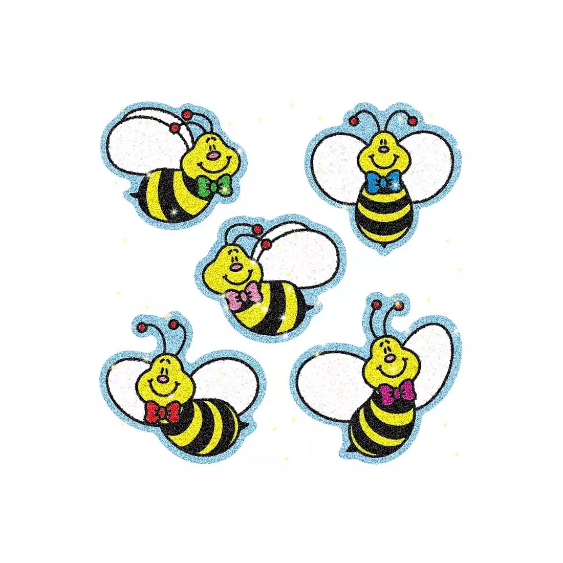 Bees Dazzle Award Stickers by Carson-Dellosa
