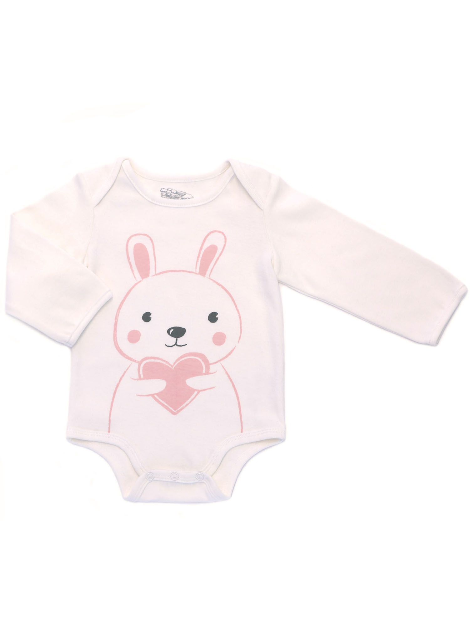 Kapital K Long Sleeve Bodysuit (Baby Girls)