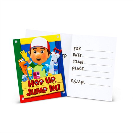 Playhouse Disney Handy Manny - Handy Manny Invitations 8ct, Based on the popular Disney character Handy Manny! By Factory Card and Party Outlet