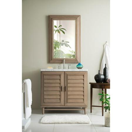 James Martin Furniture Portland 36 in. Single Vanity Base