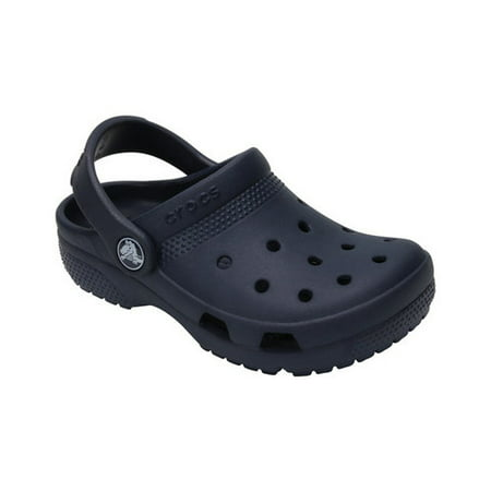 crocs - kids coast clogs, size: 11 m us little kid, color: navy