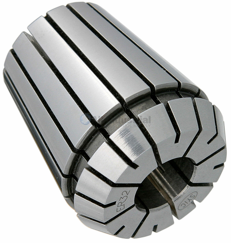 "TECHNIKS 1/2"" SUPER PRECISION ER32 COLLET .0002 ACCURACY CNC CHUCK MILL"