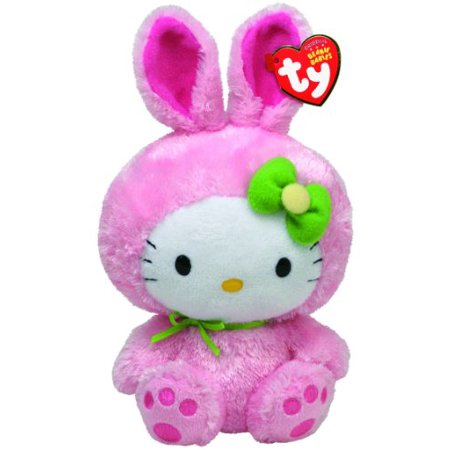 Ty Beanie Babies Hello Kitty Pink Bunny Suit - image 1 de 1