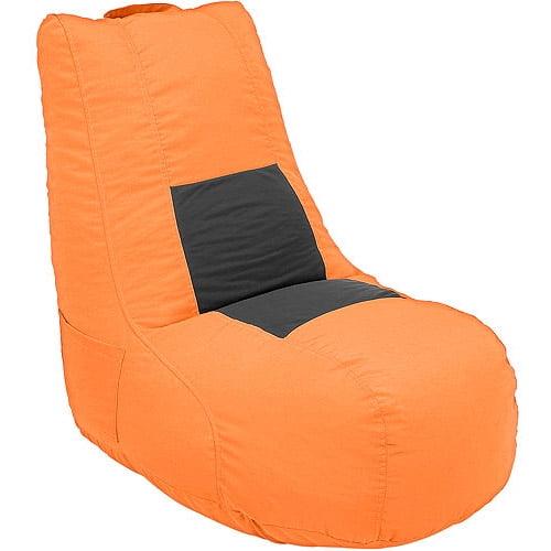 Video Bean Bag, Orange/Black
