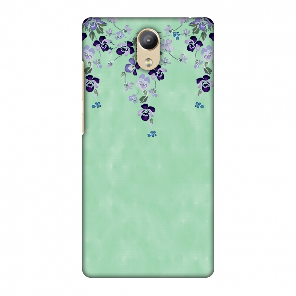 Lenovo Phab 2 Case - Butterfly poppy- Violet and aquamarine, Hard Plastic Back Cover, Slim Profile Cute Printed Designer Snap on Case with Screen Cleaning Kit