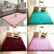 """INSMA Soft Fluffy Rugs Shaggy Area Rug Home Carpet Floor Mat 48''x44"""""""
