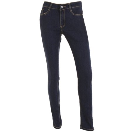 Salvaje Denim Women's Embroidered Pocket Skinny Jeans ()