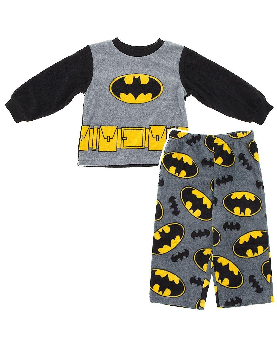 Little Boys' Cozy Fleece Pajama Set 2T-4T