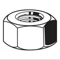 FABORY Hex Nut,5/8-11,Gr 2,Steel,Plain,PK25 U08100.062.0001