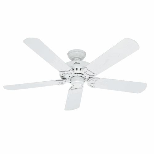 """Hunter Bridgeport Bridgeport 52"""" Indoor   Outdoor Ceiling Fan 5 Blades Include by Hunter"""