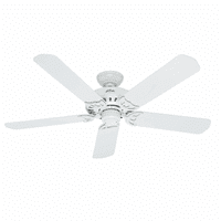 "Hunter Bridgeport Bridgeport 52"" Indoor / Outdoor Ceiling Fan - 5 Blades Include"