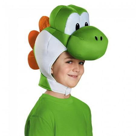 Yoshi Child Headpiece Super Mario Bros. Costume Headwear Accessory Hat - Yoshi Costume Pattern