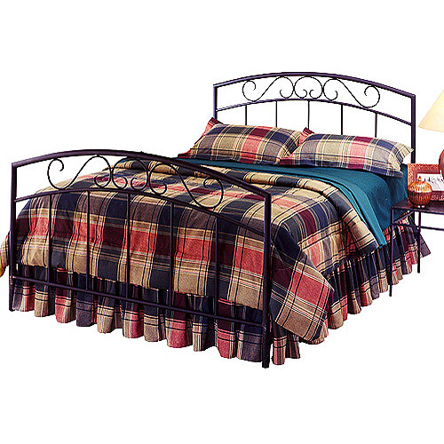 Wendell Full Bed, Black