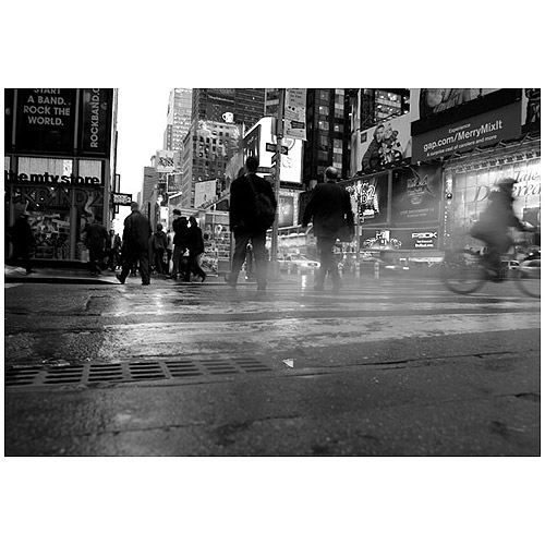 "Trademark Art ""44th Street"" Canvas Art by Yale Gurney"