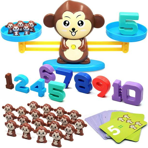 Monkey Balance Cool Math Game STEM Preschool Learning ...