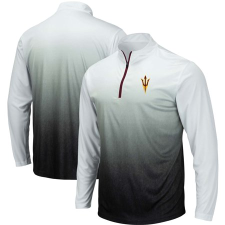 Arizona State Sun Devils Colosseum Magic Quarter-Zip Jacket - Gray