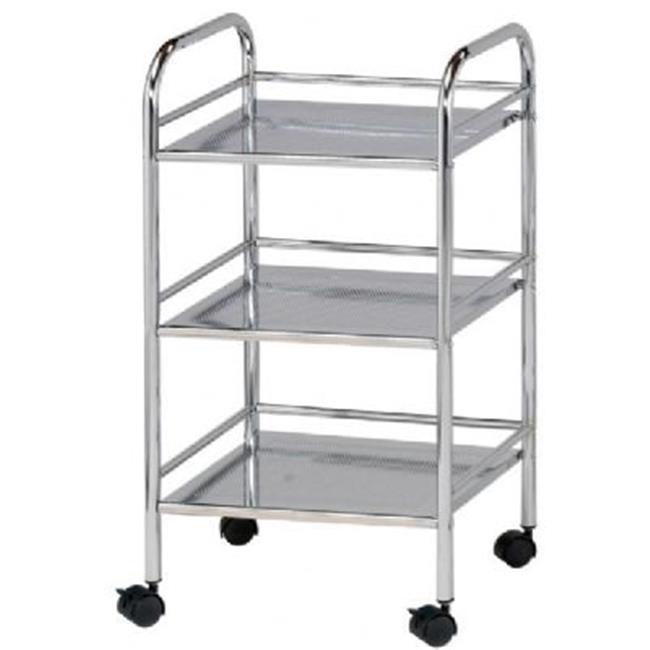 Blue Hills Studio 3-Shelf Storage Cart