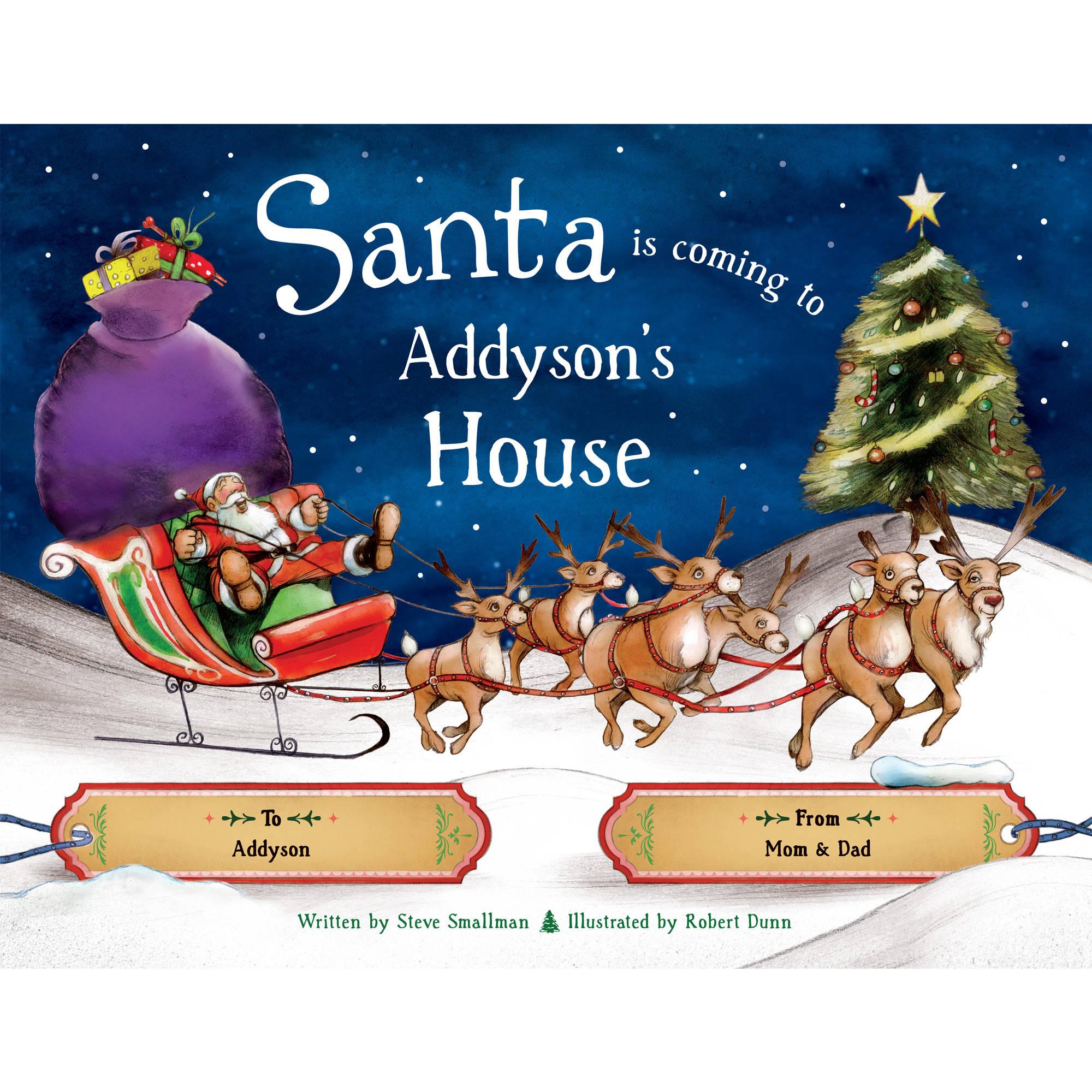Personalized Christmas Book - Santa is Coming to My House