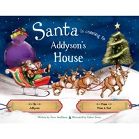 product image personalized christmas book santa is coming to my house