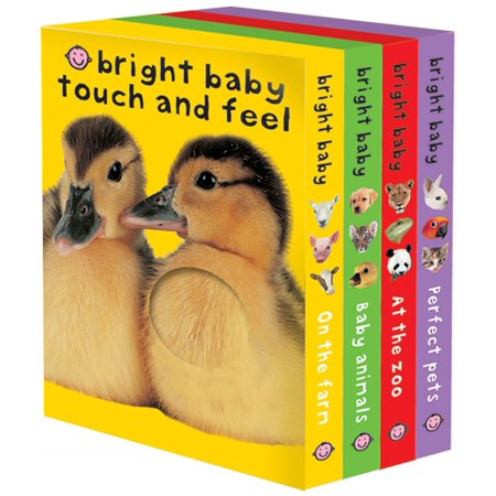 Bright Baby Touch and Feel (Board (Babys Book Pack)