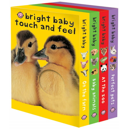 Bright Baby Touch and Feel (Board (Sassy Baby Books)