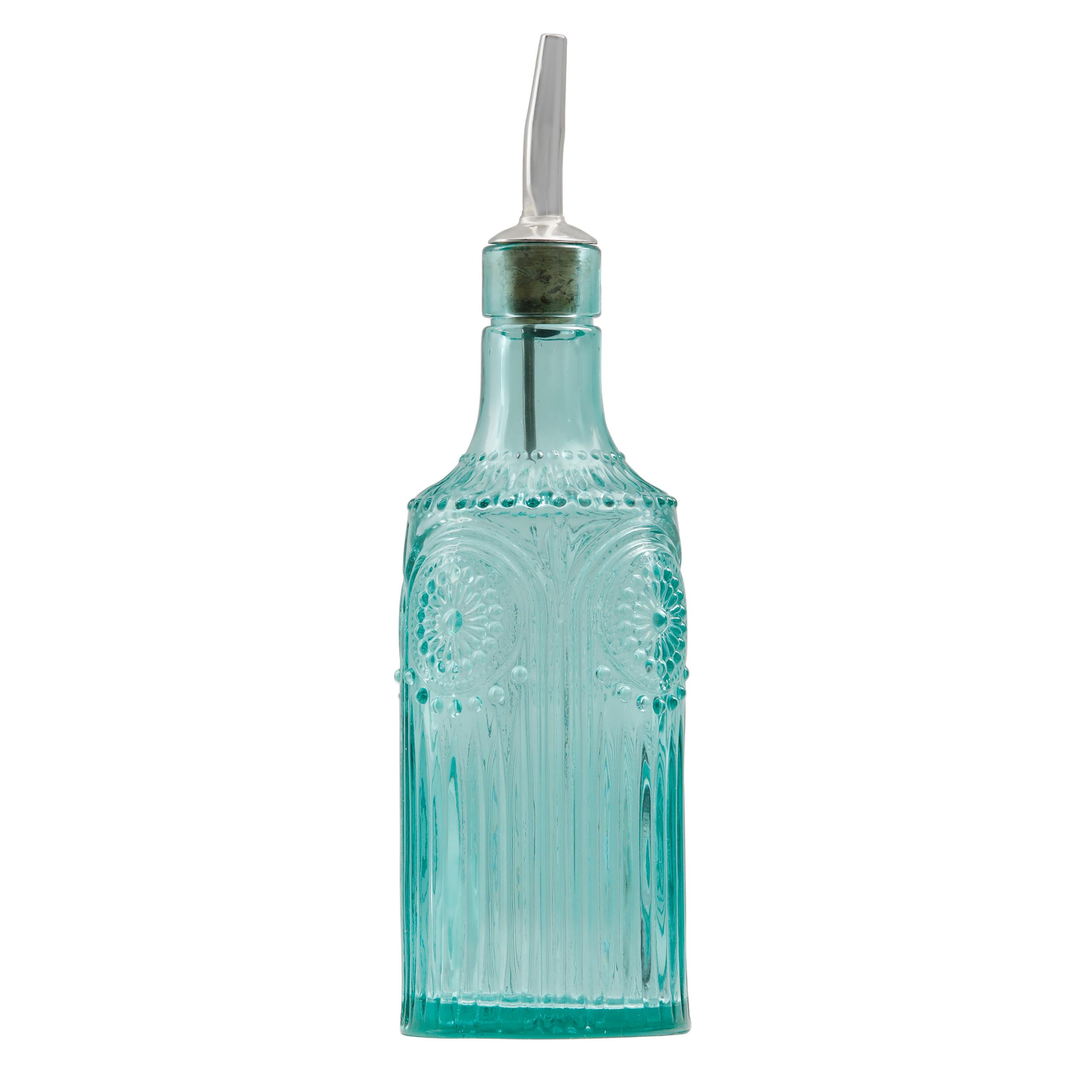 The Pioneer Woman Adeline Teal 9.8oz Oil and Vinegar Dispenser ...