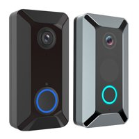 Smart Wireless Video Doorbell 166 Wide Angle Home Security Camera WiFi Video Doorbell Night Vision Motion Detection For Front Door Back Door Garage in Home Office Apartment